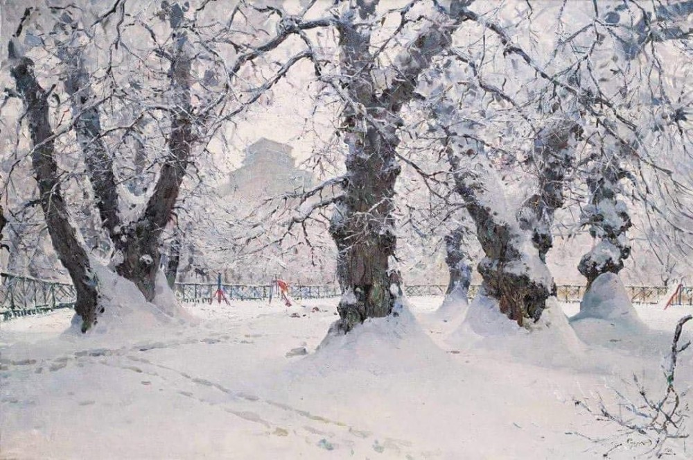 Сидорук Володимир Федорович, 1925 - 1997. Мариинский парк, 1966 (фото: korners.org.ua)