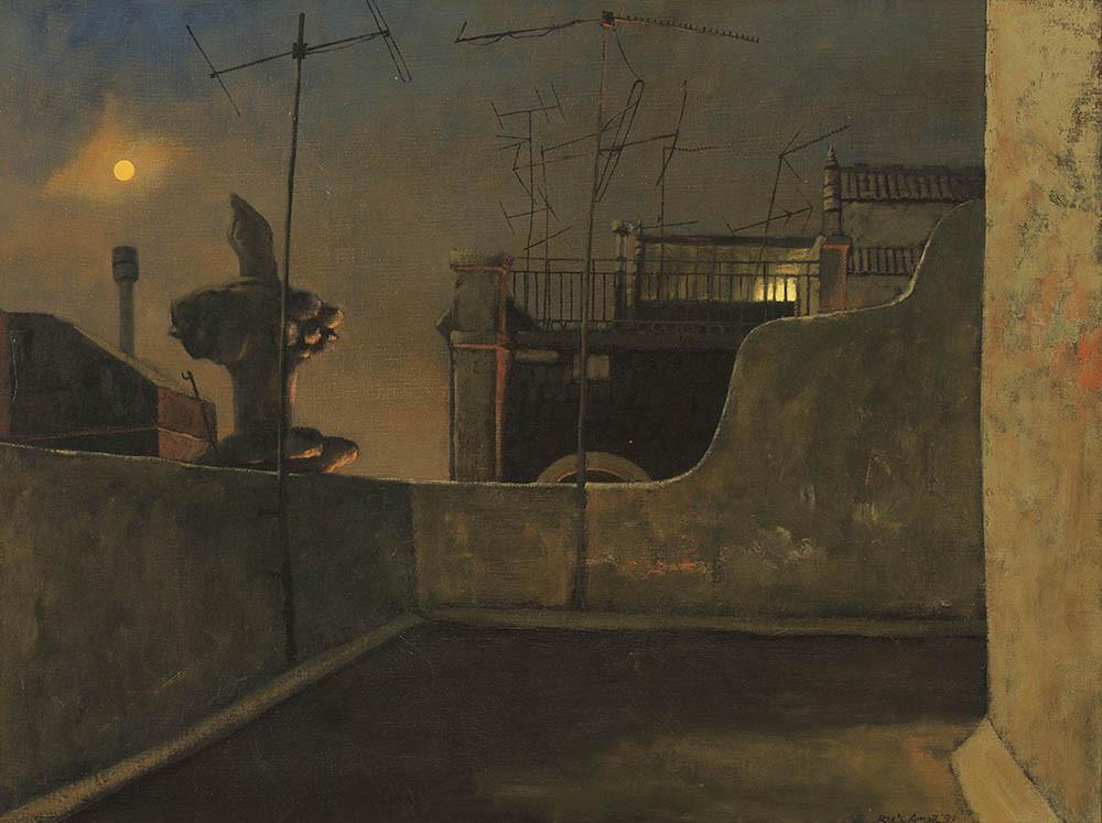 RICK AMOR - Rooftop, Barcelona Studio (photo: menziesartbrands.com)