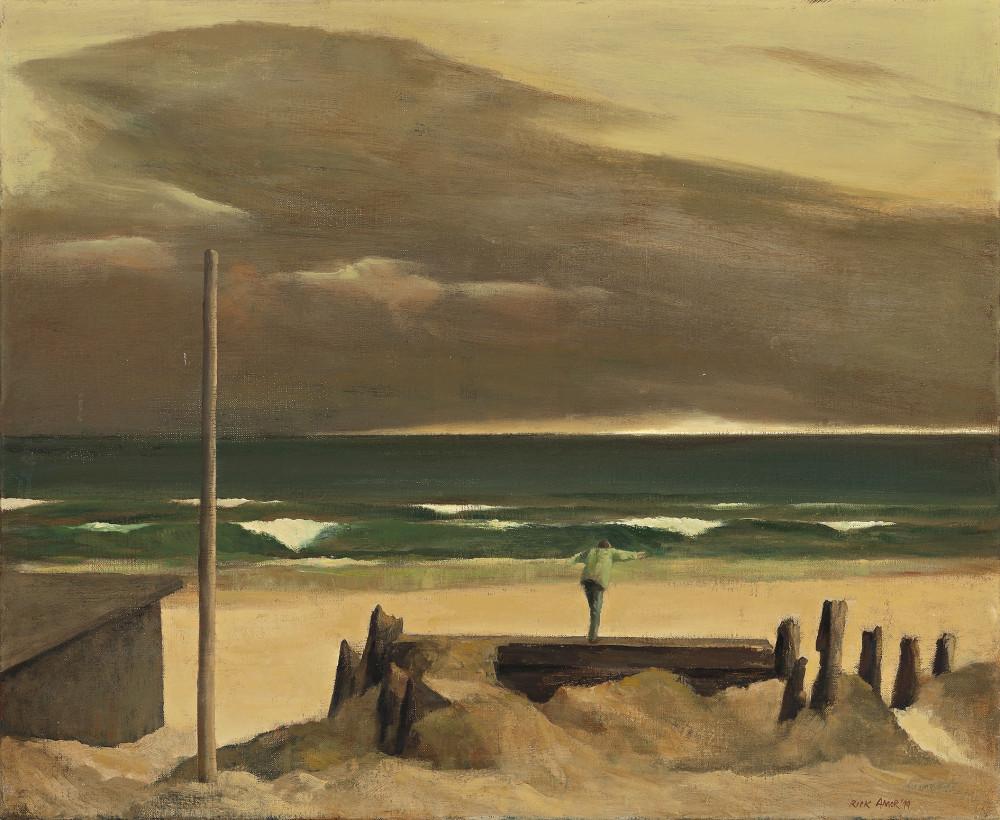 RICK AMOR, BOY ON THE BEACH, 1999 (photo: deutscherandhackett.com)