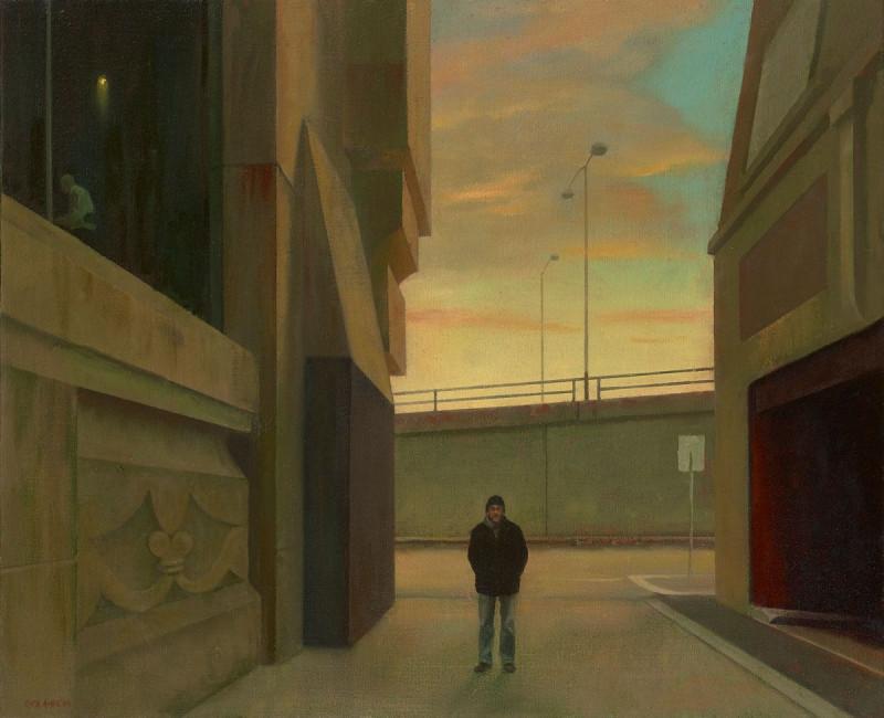 Rick Amor (Australian, b. 1948), Study for a Portrait, 2004 (photo : aasd.com.au )