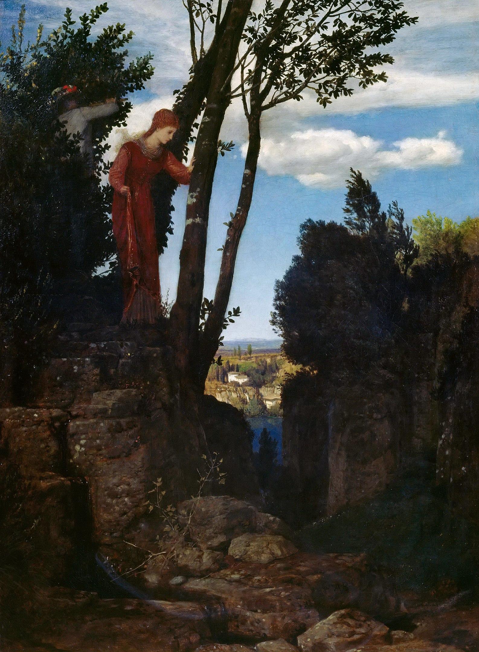 Arnold Böcklin - Hochzeitsreise (1878)