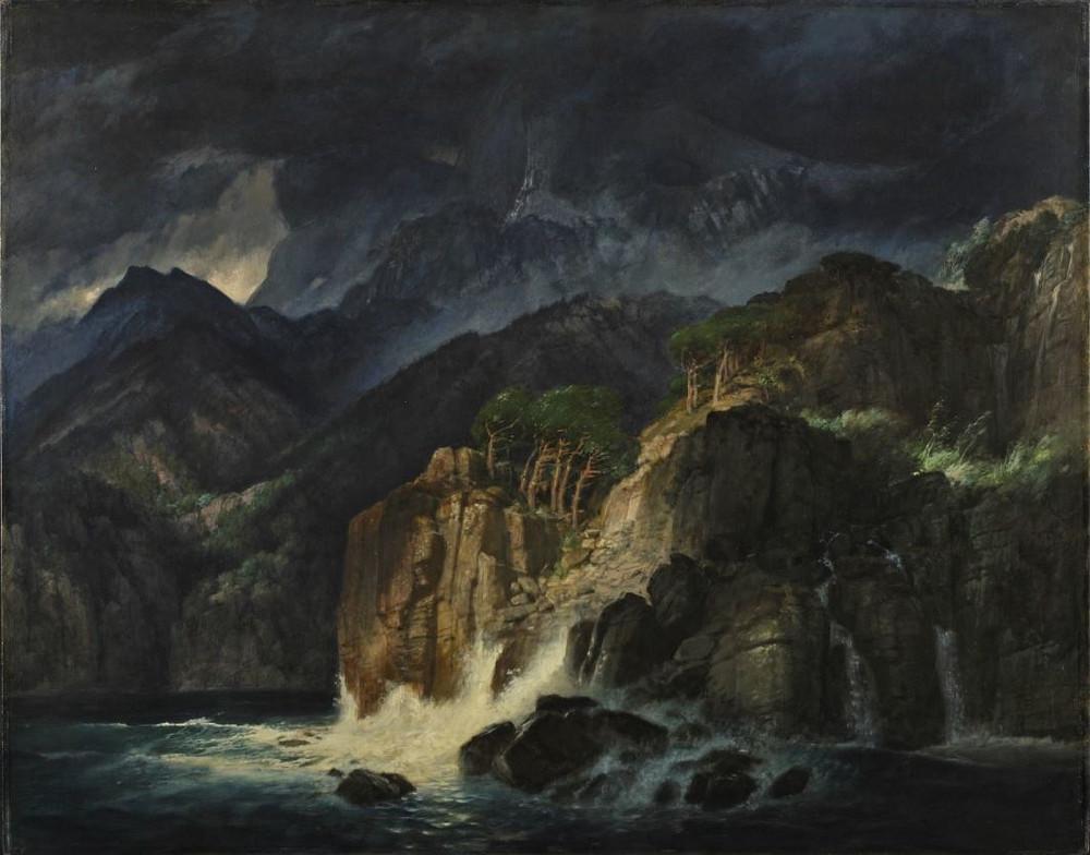 Arnold Böcklin - Prometheuslandschaft (1885)