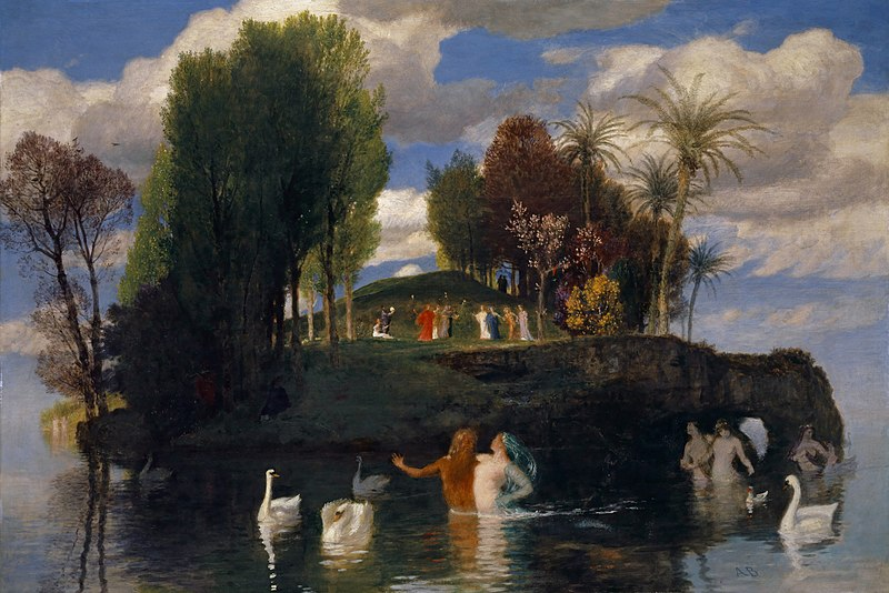Остров жизни / Die Lebensinsel - 1888