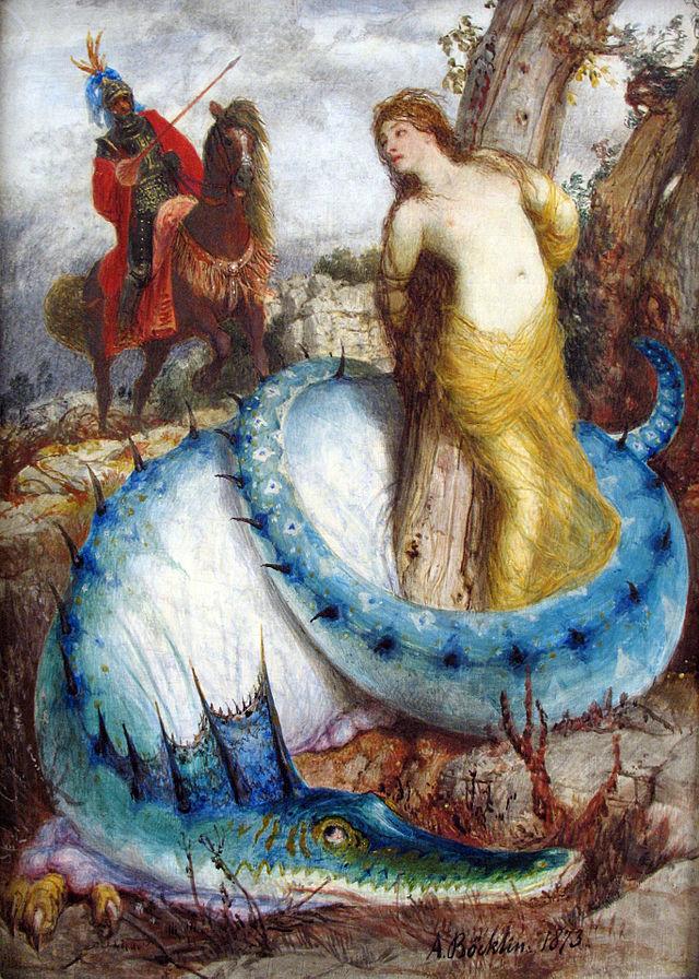 Ruggiero und Angelica. 1873