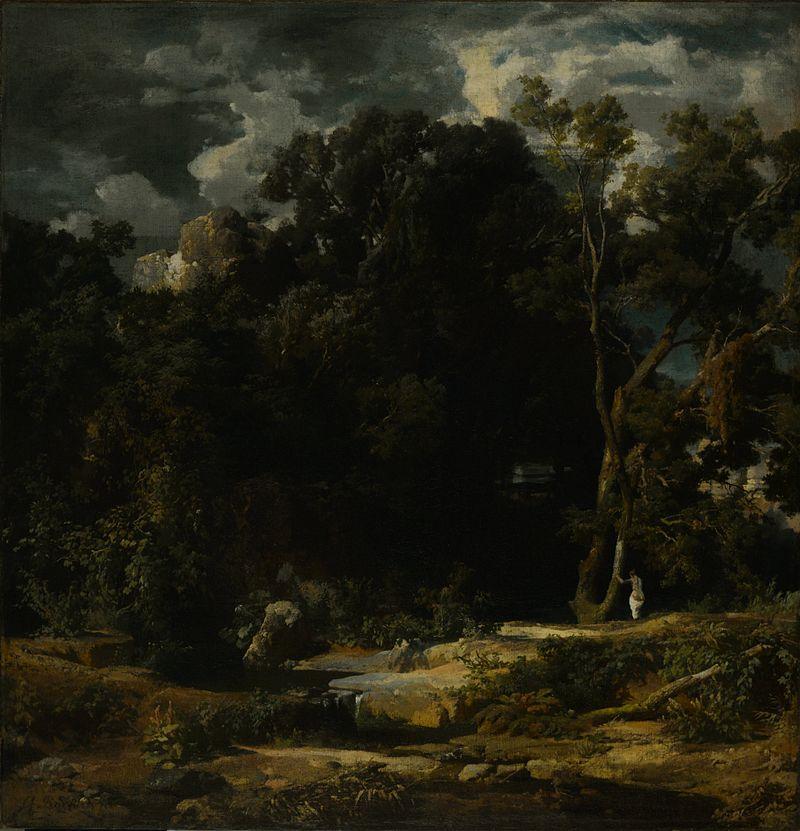 Arnold Böcklin - Roman Landscape (Römische Landschaft)