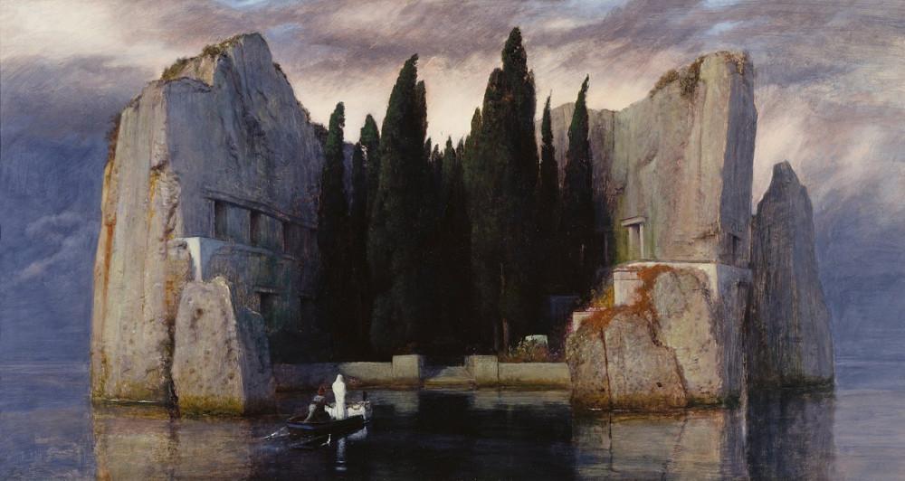 Arnold Böcklin - Die Toteninsel III ( Alte Nationalgalerie, Berlin)