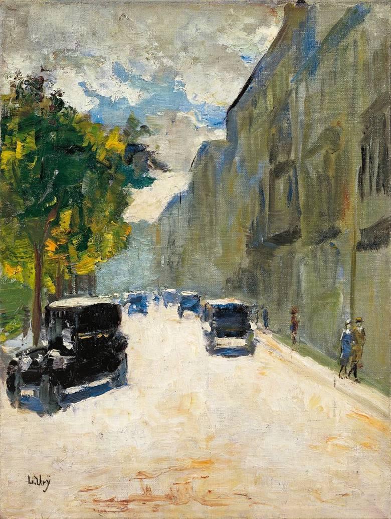 Berliner Straßenszene.  1920s