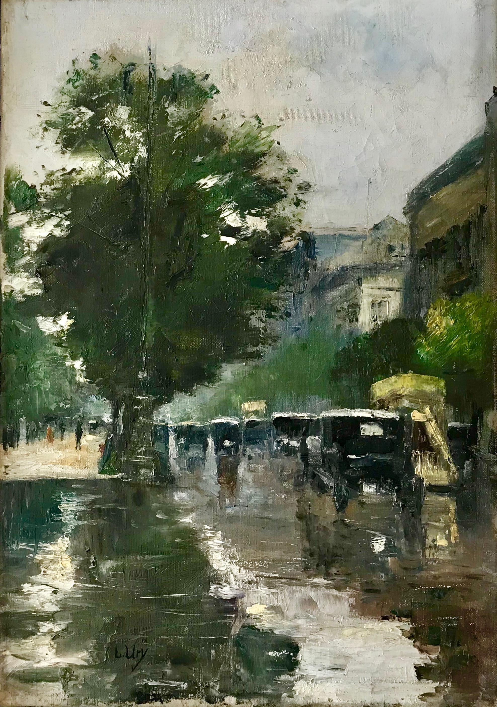 Lesser Ury, Hotel Adlon, 1925