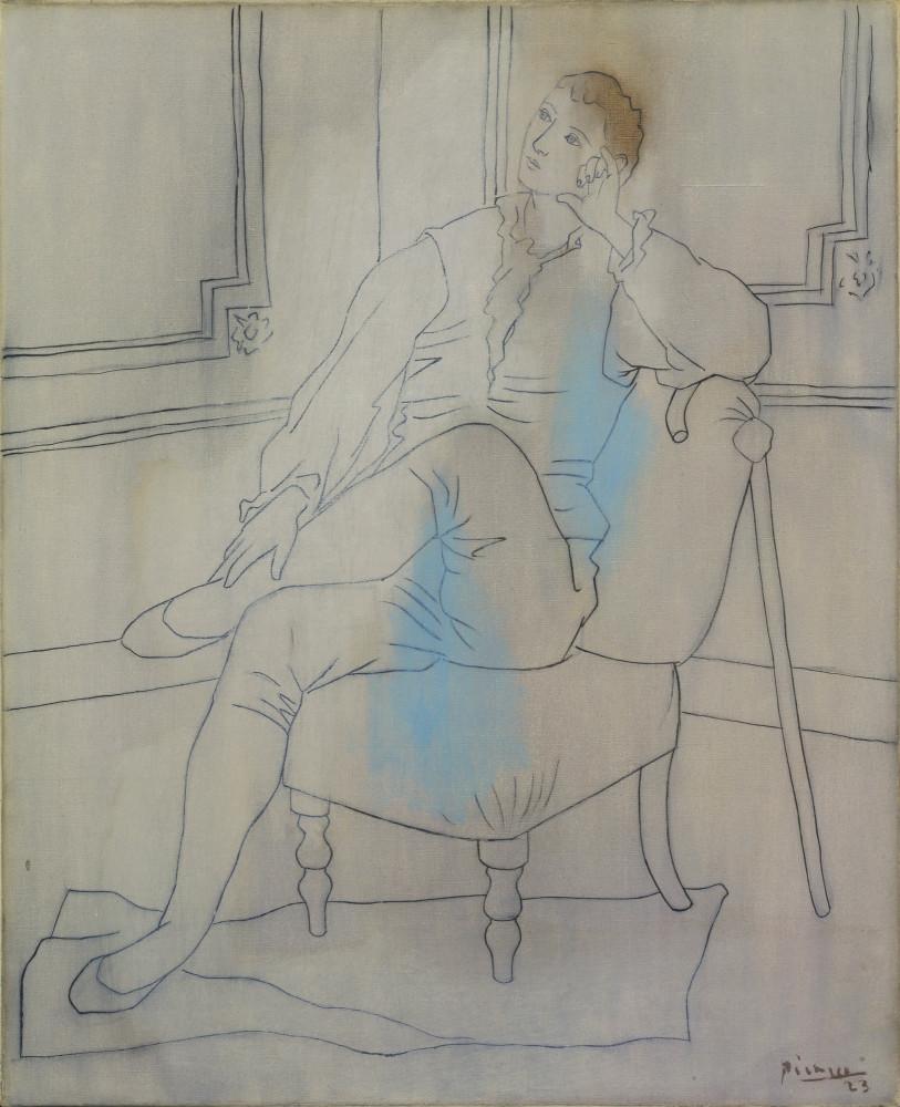 Pablo Picasso. The Sigh. Paris, 1923 - MoMA