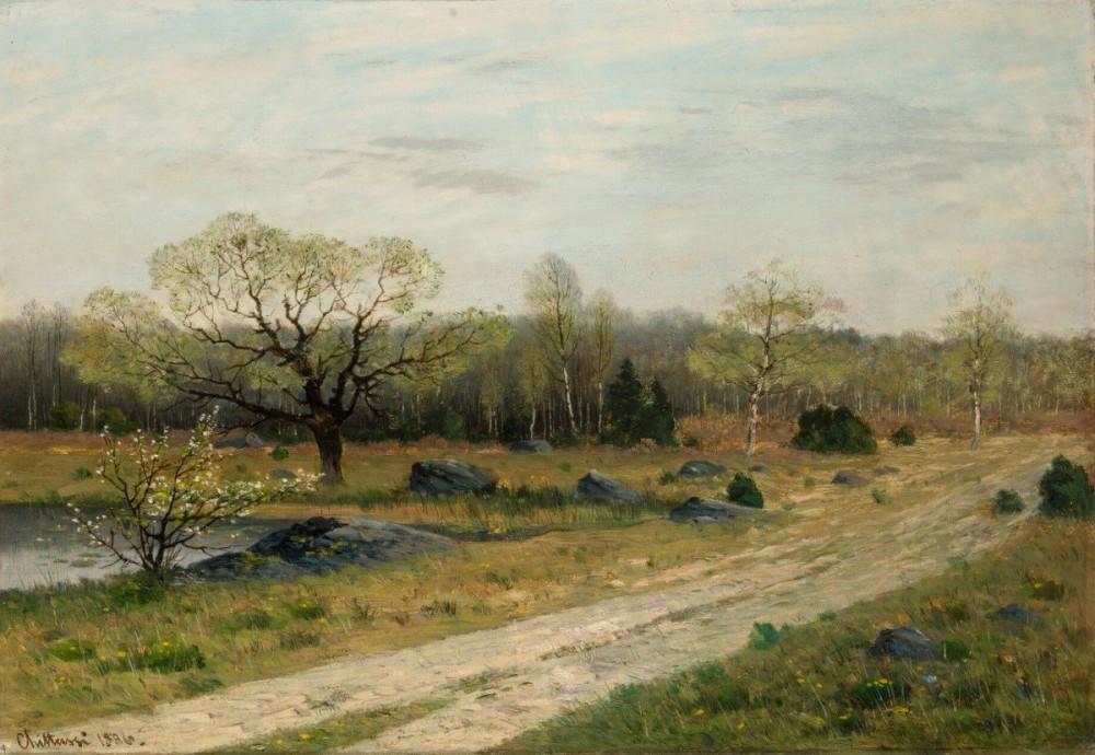 Antonín Chittussi - Весна в Фонтенбло