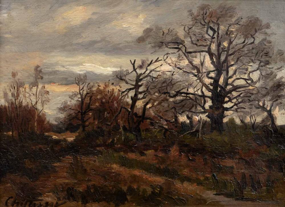 Antonín Chittussi - Heath in Fontainebleau
