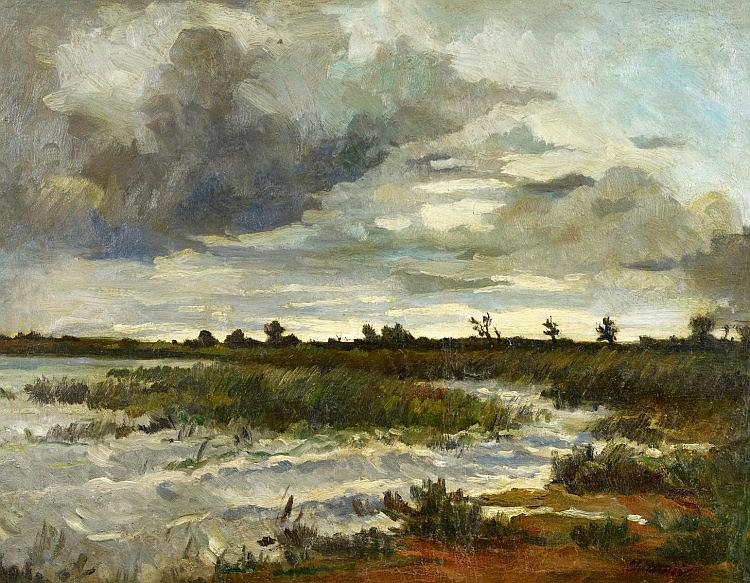 Antonín Chittussi - Ronov nad Doubravou - 1891