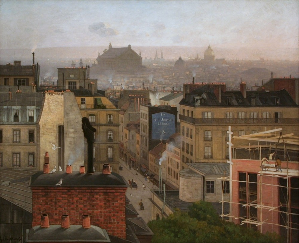 Antonín Chittussi - Paris as Viewed from Montmartre