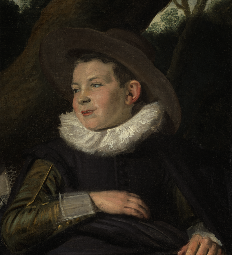 FRANS HALS (Antwerp 1582/ 83 - 1666 Haarlem) -  PORTRAIT OF A BOY OF THE VAN CAMPEN FAMILY