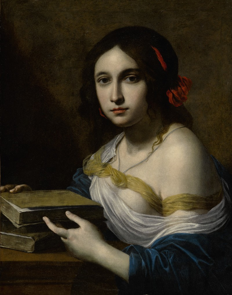 GIOVANNI MARTINELLI AND WORKSHOP (Florence 1610 - 1659) -  AN ALLEGORY OF WISDOM