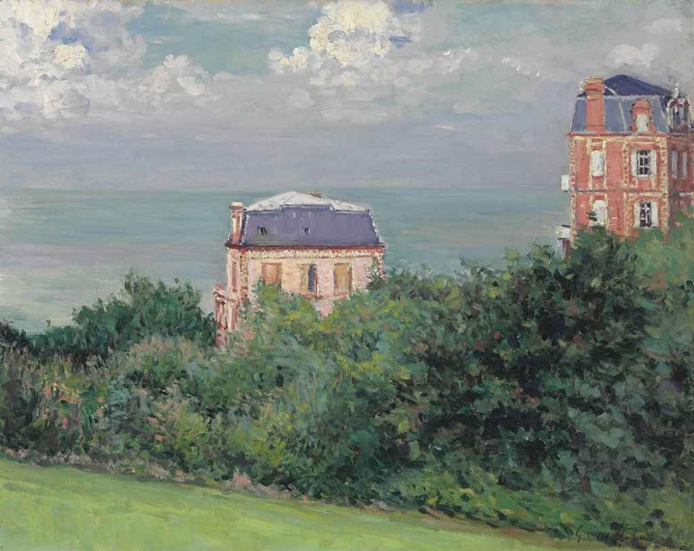 Gustave Caillebotte (1848-1894) - Villas à Villers-sur-Mer