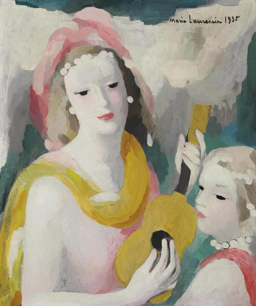 Marie Laurencin (1883-1956) Mandoline