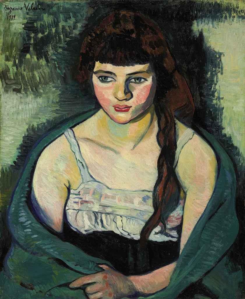 Suzanne Valadon (1865-1938) Victorine ou La tigresse