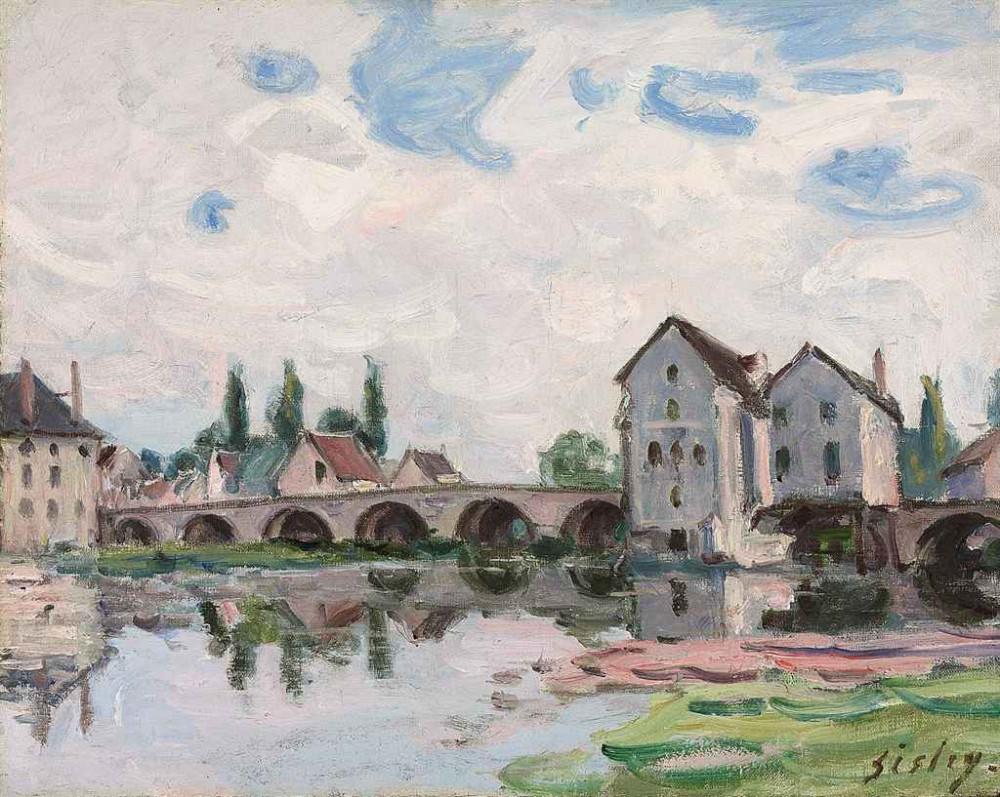 Alfred Sisley (1839-1899) Moret sur Loing