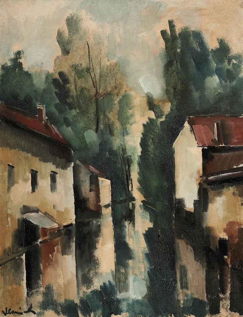Maurice de Vlaminck (1876-1958) Le village inondé