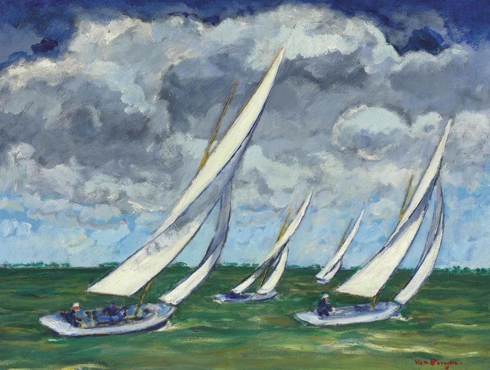 Kees van Dongen (1877-1968) La Régate