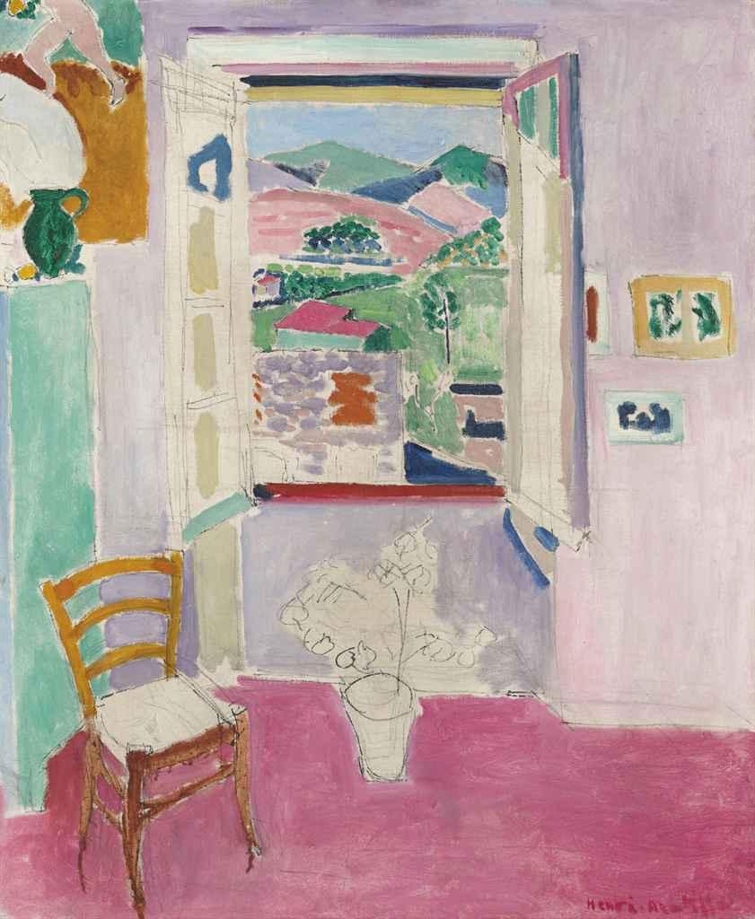 Henri Matisse (1869-1954) La fenêtre ouverte