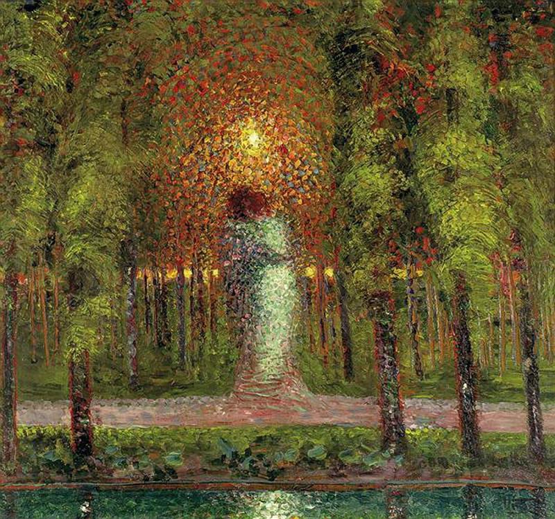 Gerardo Dottori - Gli amanti, 1907