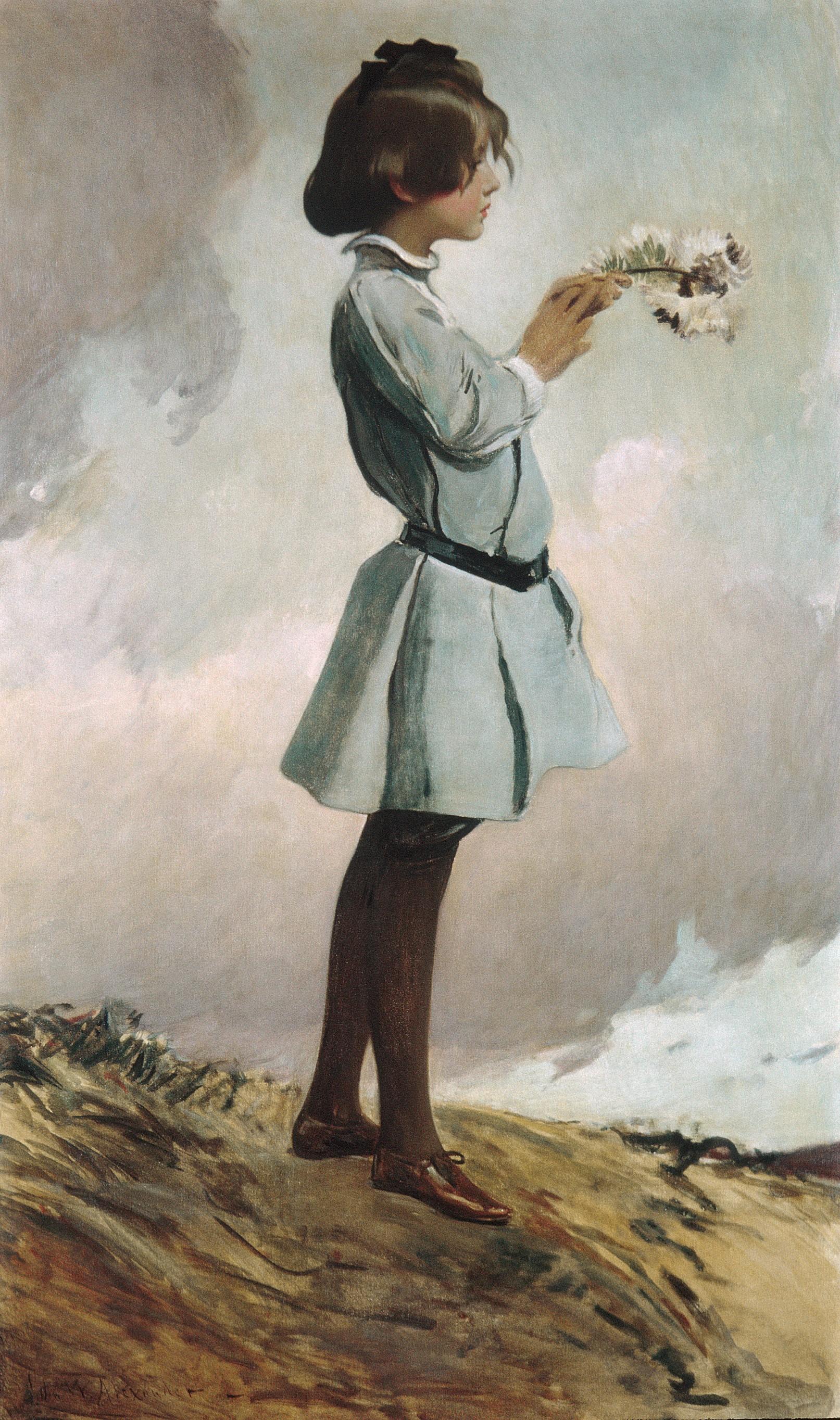 Geraldine Russell 1902 or 1903 -  John White Alexander