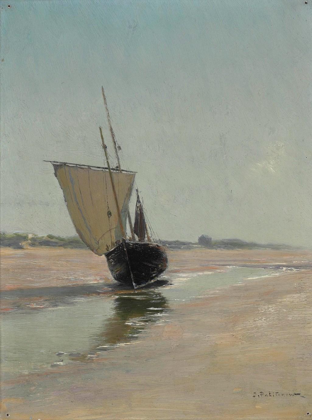 Ivan Pokhitonov (1850-1923) Après la tempête. La Panne / Иван Похитонов (1850-1923) - После бури. Ля - Панн