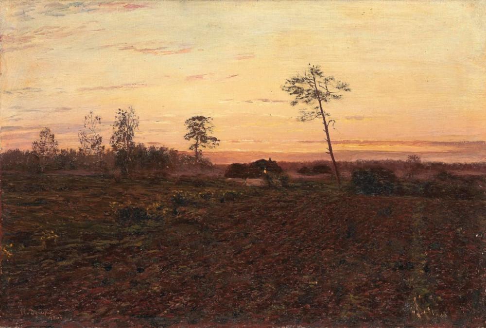 Nikolai Dubovskoi (1859-1918) Evening / Николай Дубовской (1859-1918) Вечер