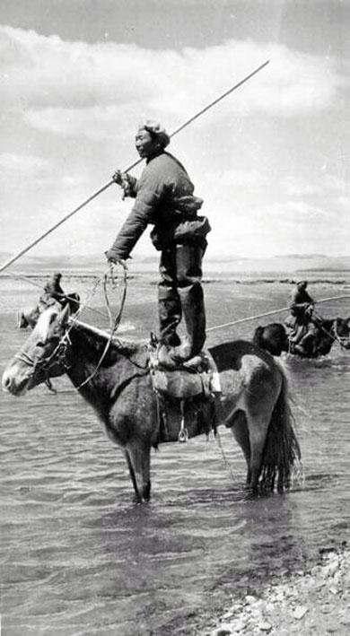 Монгольская рыбалка в 20-х годах ХХ века
