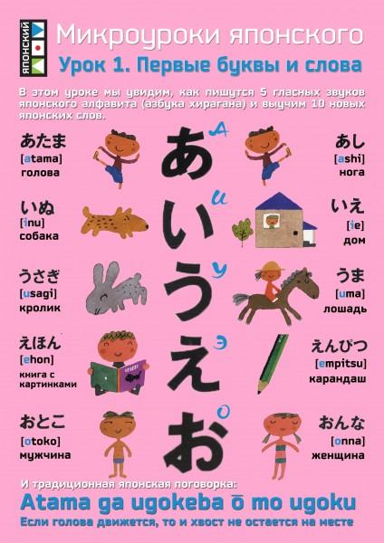 Электронные, картинка с японскими словами