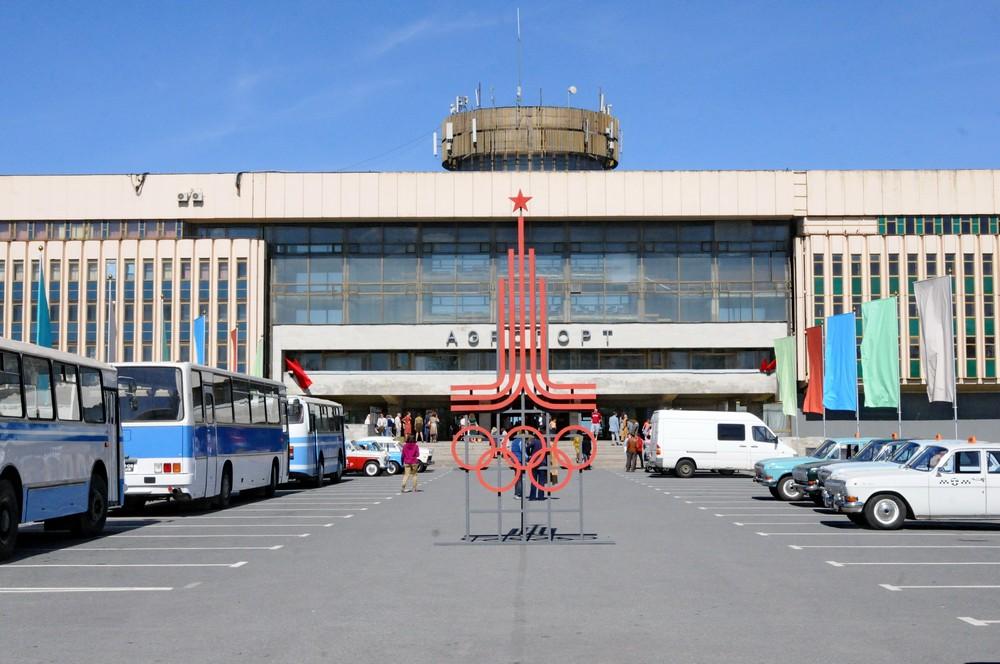 Декорация аэропорта. Москва-1980. Академия Макарова