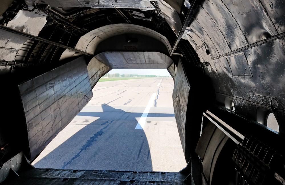 Взлетная полоса аэропорта Минск-1