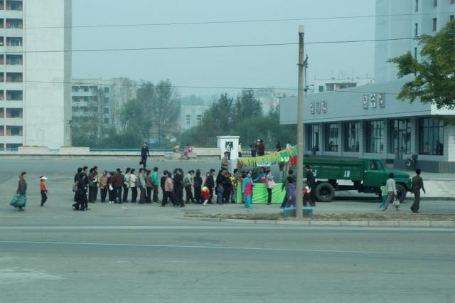 Очереди в Пхеньяне