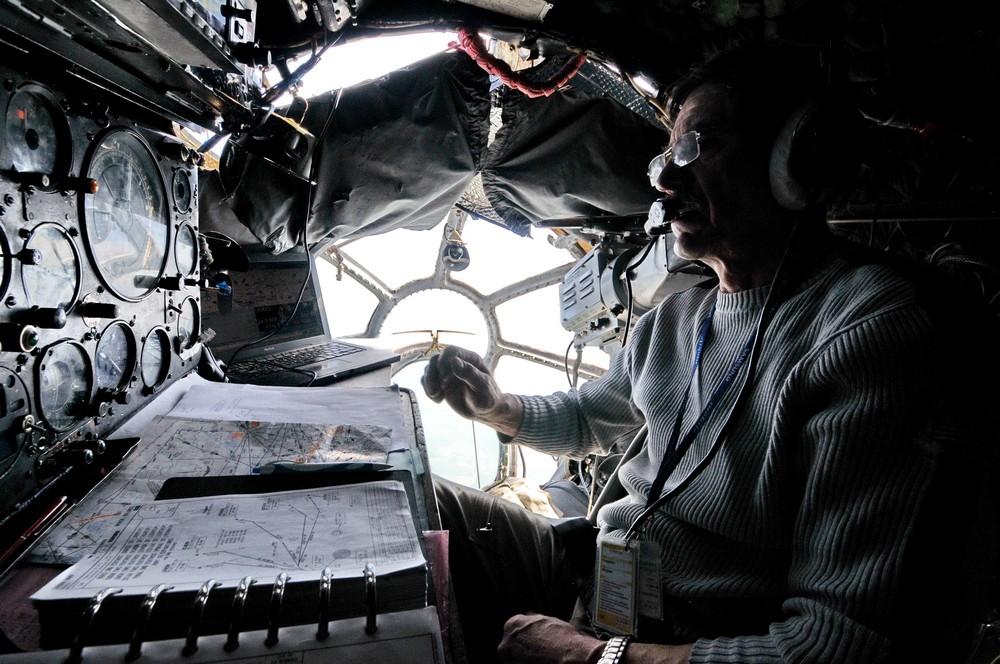 Штурманская самолета Ан-12