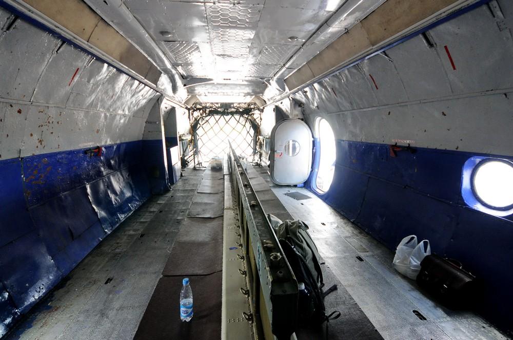 Салон самолета Ан-12