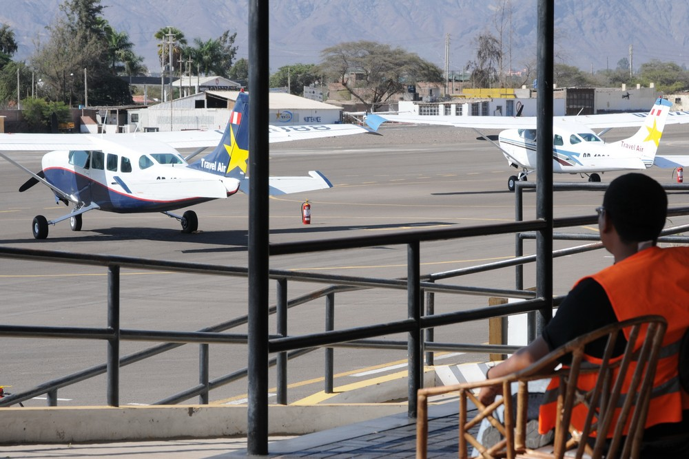 Самолеты на аэродроме Наска