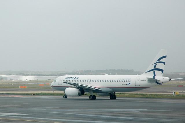 Самолет авиакомпании Aegean