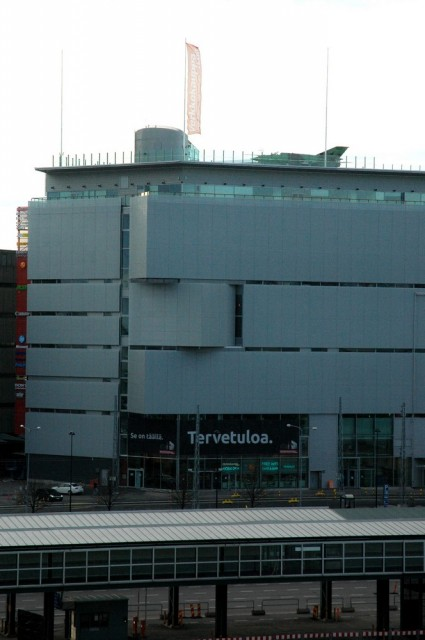 Торговый центр Verkkokauppa.com напротив Länsiterminaali