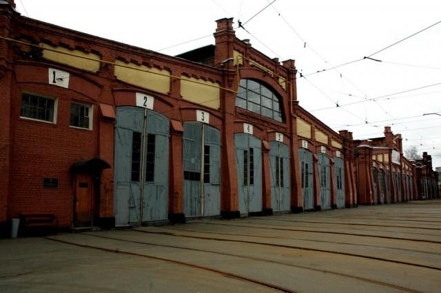 Музей городского электротранспорта в Петербурге