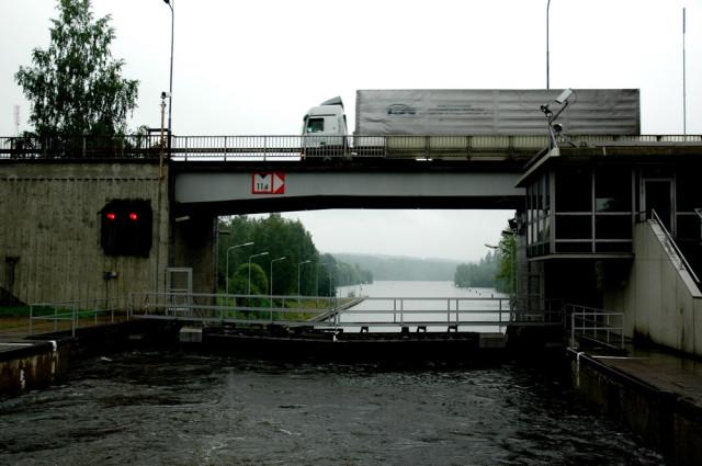 Шлюз Сайменского канала