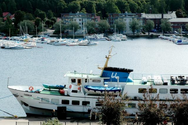 Паром Carelia в порту Лаппеенранты