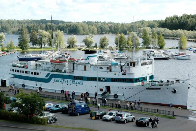 Паром Kristina Brahe в порту Лаппеенранты