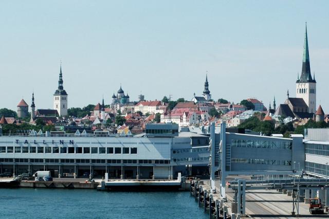 Круизный порт Таллин