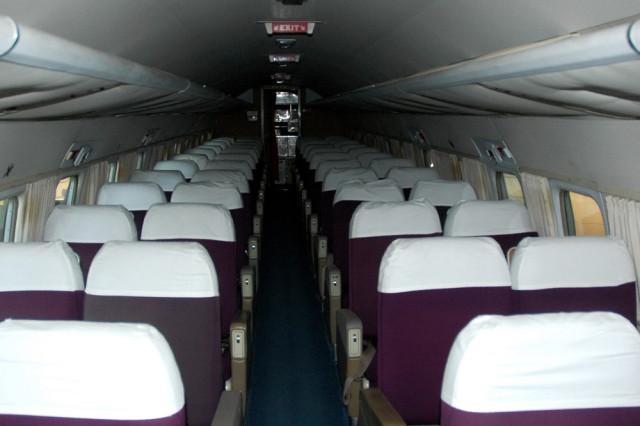 Салон самолета Convair-440