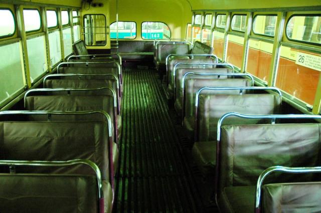 Салон троллейбуса МТБ-82Д