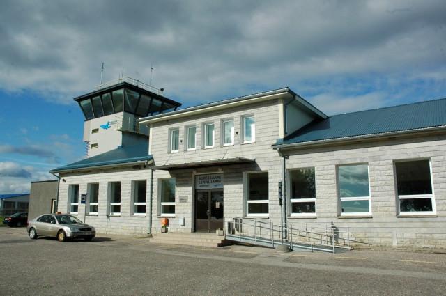 Терминал аэропорта Курессааре