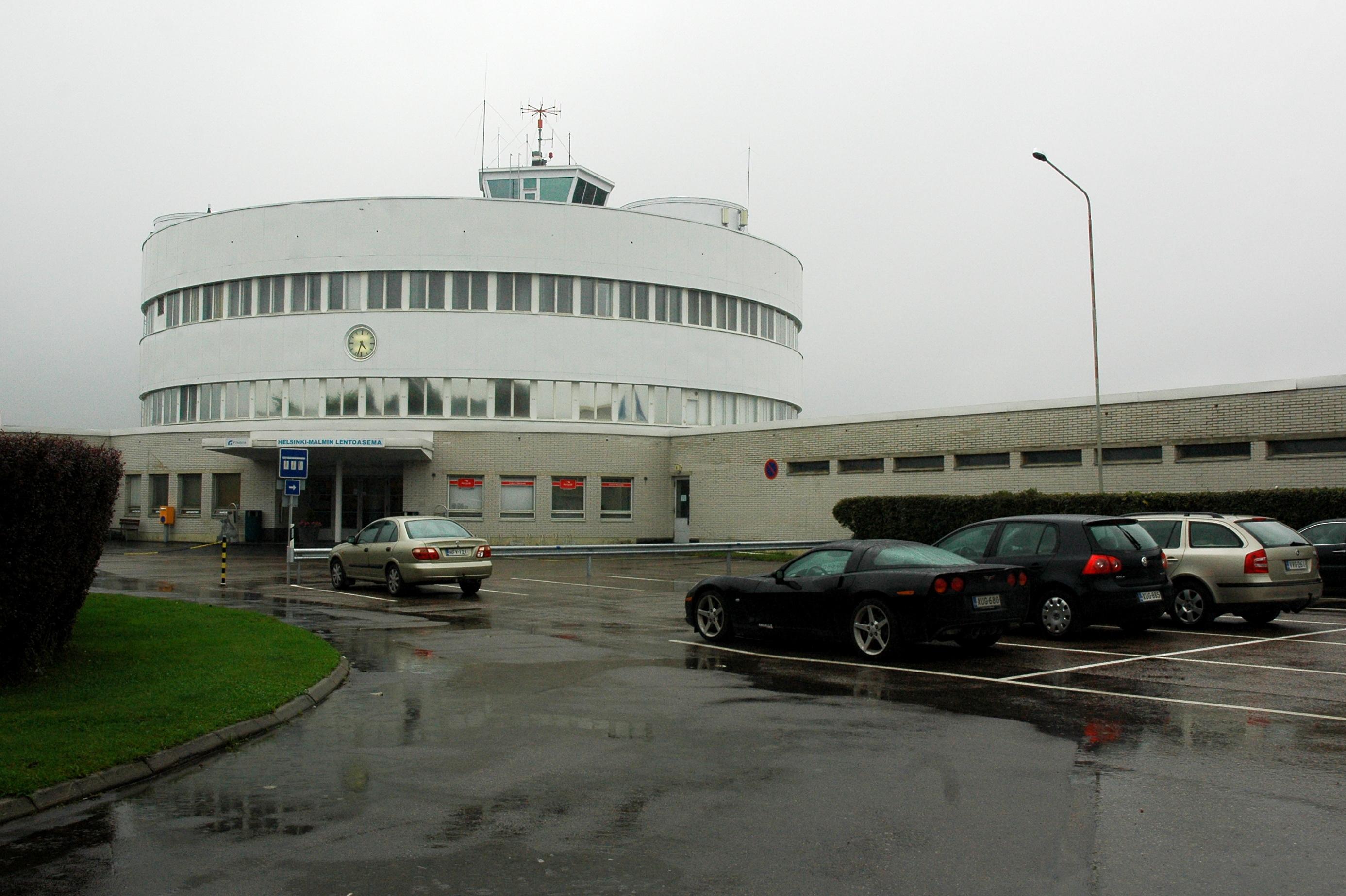 Терминал аэропорта Мальми в Хельсинки