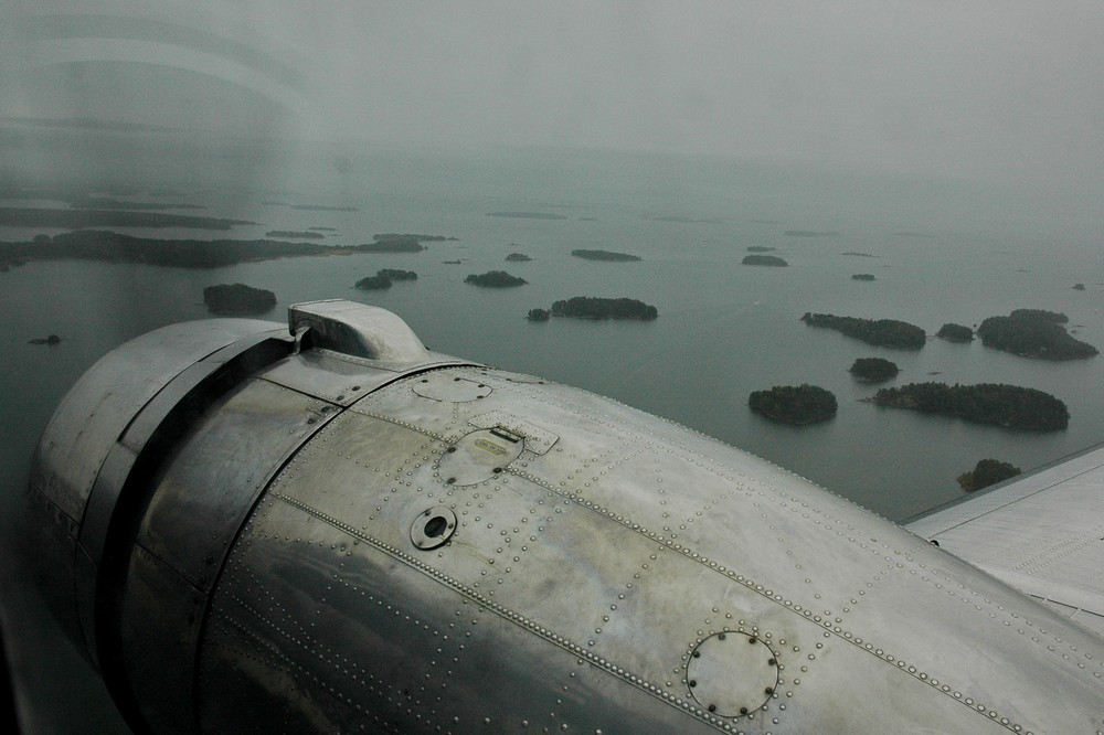 Взлетаем над архипелагом